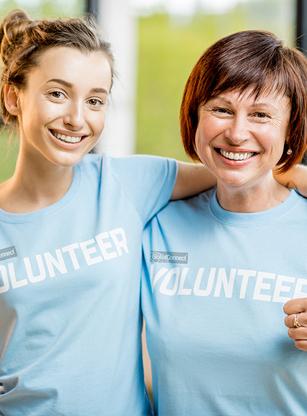 GlobalConnect® volunteers