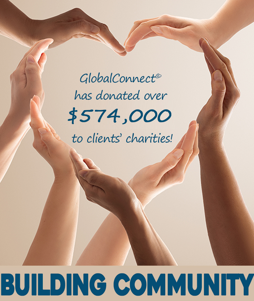 GlobalConnect® donated $574,000