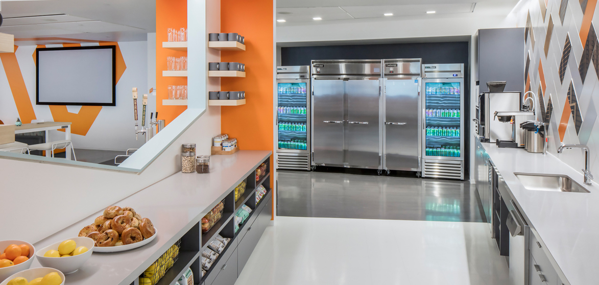 Pantry breakroom services